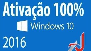 getlinkyoutube.com-🔴  Como ativar windows 10 - Atualização 2016