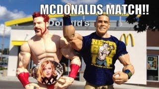 getlinkyoutube.com-GTS WRESTLING: Night of Champions PARODY! WWE Mattel figure matches animation event!