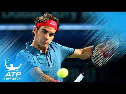 Roger Federer`s Best Ever Shots in Dubai