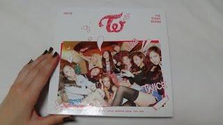 Unboxing TWICE 트와이스 1st Mini Album THE STORY BEGINS