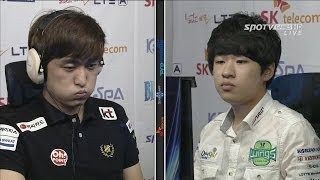 getlinkyoutube.com-[프로리그2014] 이영호(KT) vs 조성주(진에어) 4세트 회전목마 -EsportsTV, 프로리그2014