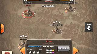 getlinkyoutube.com-Clash of clans-ตีบ้าน7ยังไงให้ได้3ดาวทุกรอบ