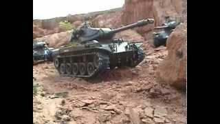 "getlinkyoutube.com-หนังสั้น Short film M41A3 heng long RC 1:16 in movie ""Get it back 3"" Eng-Thai Subtitle."