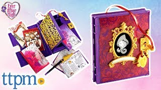 getlinkyoutube.com-Ever After High Secret Hearts Diary from Mattel