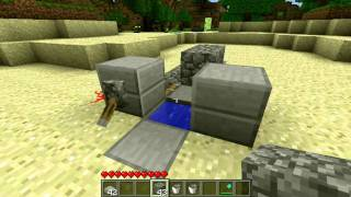getlinkyoutube.com-[How To] Make a Minecraft Toilet That Flushes! (Working)