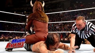 getlinkyoutube.com-El Torito vs. Hornswoggle: WWE Main Event, April 22, 2014