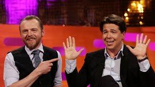 getlinkyoutube.com-Simon Pegg on Tom Cruise's pranks - The Graham Norton Show: Series 17 Episode 6 Preview - BBC One