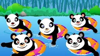 getlinkyoutube.com-Five little Pandas