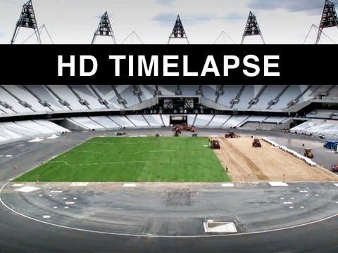 Time lapse - Olympic Stadium London 2012 HD