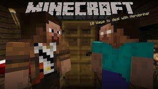 "getlinkyoutube.com-Minecraft - 10 Ways to deal with Herobrine. ""ถ้าคุณเจอฮีโร่บายจะทำยังไง"""