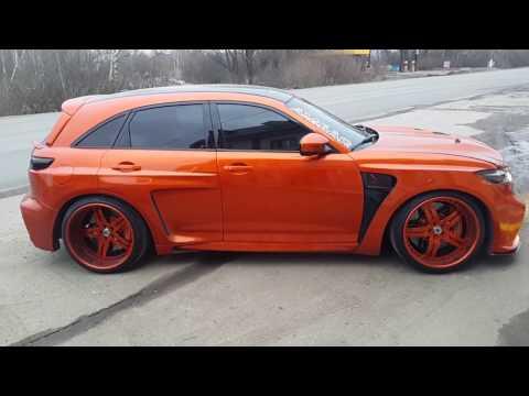 "Мускулистый апельсин ""Drive2.ru"" - Xanavi.ru - установка мультимедиа 2017 года"