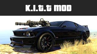 getlinkyoutube.com-KNIGHT RIDER K.I.T.T (Car Miniguns & Drive on Water!) | GTA 5 PC Mods