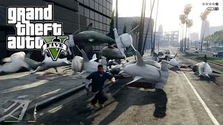 getlinkyoutube.com-GTA V - Cannone spara squali & Shark-O-Matic!