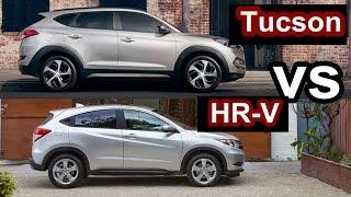 getlinkyoutube.com-2016 Hyundai Tucson VS 2016 Honda HR-V - DESIGN!