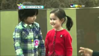 getlinkyoutube.com-MBLAQ Hello Baby Ep 9 Cut - Dayoung & Leo : New Couple??