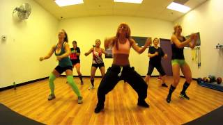 getlinkyoutube.com-Booty Wurk - T-Pain Zumba with Mallory HotMess
