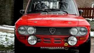 getlinkyoutube.com-LANCIA FULVIA COUPE 1600 HF GROUP 4 FIA RALLY CAR 1972