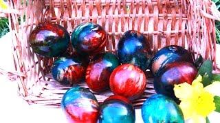 Farbanje jaja na pari