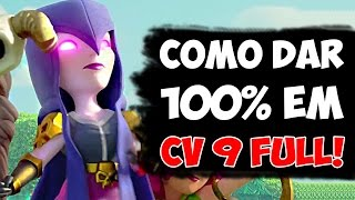 getlinkyoutube.com-COMO DAR 100% EM CV 9 FULL! - Clash of Clans | HEYARTHUR