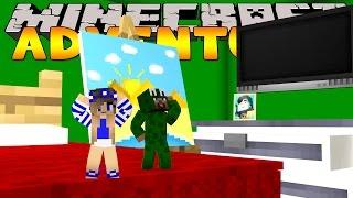 getlinkyoutube.com-Minecraft Adventure : LITTLE LIZARD AND LITTLE CARLY SHRINK!
