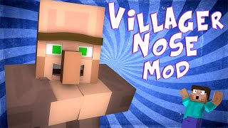 getlinkyoutube.com-UTNIJ NOS VILLAGER'OWI ! Villager Nose mod
