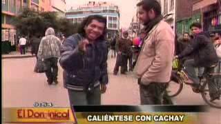 getlinkyoutube.com-Cómico 'Cachay' caliente las frías noches limeñas
