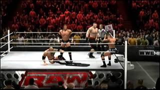 getlinkyoutube.com-WWE'13 Fatal 4-Way Match Part 2