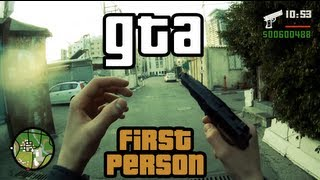 getlinkyoutube.com-First person GTA [Grand Theft Auto in real life]