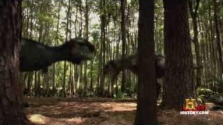 getlinkyoutube.com-(4) Lucha en el Jurasico - (1/12) El Dinosaurio Caníbal