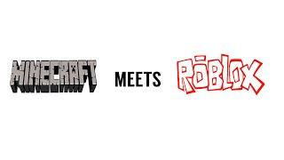 getlinkyoutube.com-Minecraft Meets Roblox!