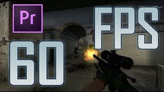 How to record CS GO clips at 60FPS! Works with low-end PCs!