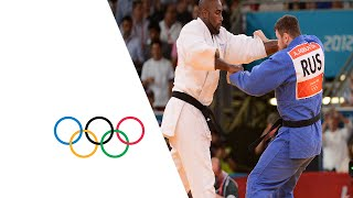 getlinkyoutube.com-Teddy Riner Wins Men's Judo +100 kg Gold - London 2012 Olympics