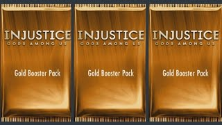 Injustice Gods Among Us (iOS/Android) GOLD BOOSTER PACK OPENING