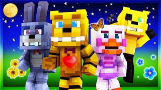 getlinkyoutube.com-FNAF Origins - Day 1 (Minecraft Roleplay)