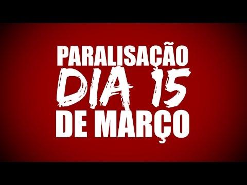 Dia 15 de Março - Nenhum direito a menos!