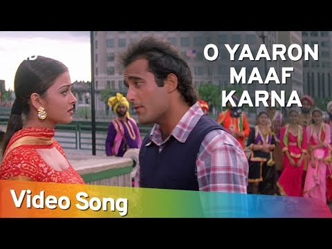 O Yaron Maaf Karana - Akshaye Khanna - Aishwarya Rai - Aa Ab Laut Chalen - Superhit Hindi Songs