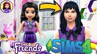 Lego Friends Emma as a Sim! Sims 4 Create a Sim