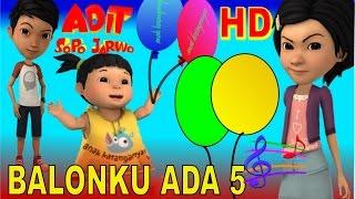 getlinkyoutube.com-Balonku Ada 5 ✰ Adel (Adit Sopo Jarwo) ✰ Lagu Anak Indonesia Populer Sepanjang Masa