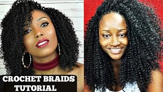 getlinkyoutube.com-Crochet Braids Tutorial With Freetress Water Wave Collab With Beautycanbraid
