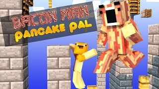 Minecraft Adventures of Bacon Man : Epic Jump Map HALLOWEEN!