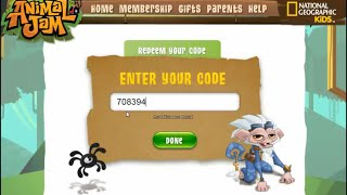 Animal jam ~ How to redeem your membership giftcard