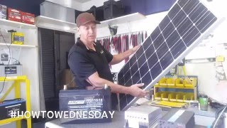 #HowtoWednesday Renogy Solar Kit with Battery for Off-Grid
