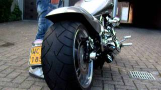 getlinkyoutube.com-M109R Intruder custom Thunderbike Arnott Air-ride, raw design Suzuki Vzr 1800