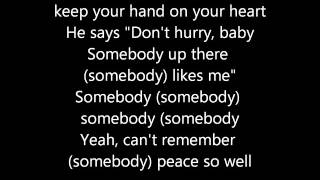 David Bowie - Somebody Up There Likes Me (Lyrics)