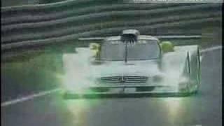 getlinkyoutube.com-[crash] The history of Mercedes Le mans [1999]