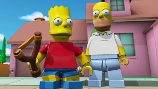 getlinkyoutube.com-LEGO Dimensions - Bart Simpson Open World Free Roam (Character Showcase)