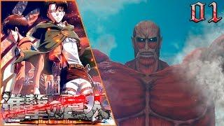 getlinkyoutube.com-Shingeki No Kyojin PS3 | Capítulo 1 | EL ATAQUE DE LOS TITANES!!!