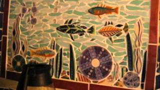 getlinkyoutube.com-Making Mosaics with Recycled Materials