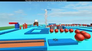getlinkyoutube.com-Roblox Obby:WipeOut version roblox map review