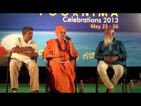 You can listen to silence only in Meditation - Shiva Rudra Swamiji, BPC 2013
